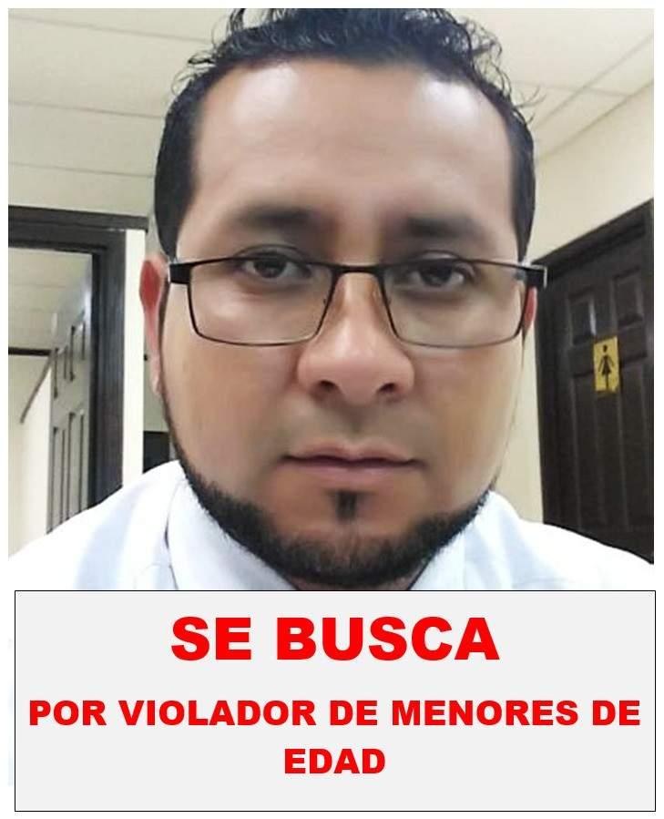 Piden ayuda para capturar a Óscar Alfredo Hernández, acusado de violar a un niño en San Salvador 3