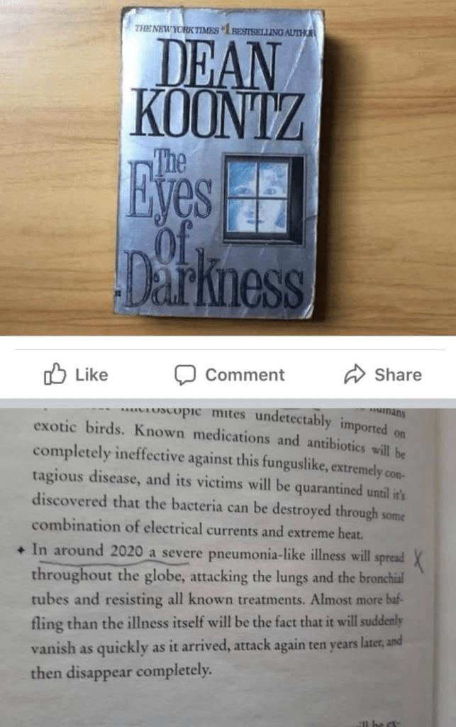 """El libro que predijo que habría una pandemia como el """"coronavirus"""" en 2020 ¿Peligrosa coincidencia? 3"""