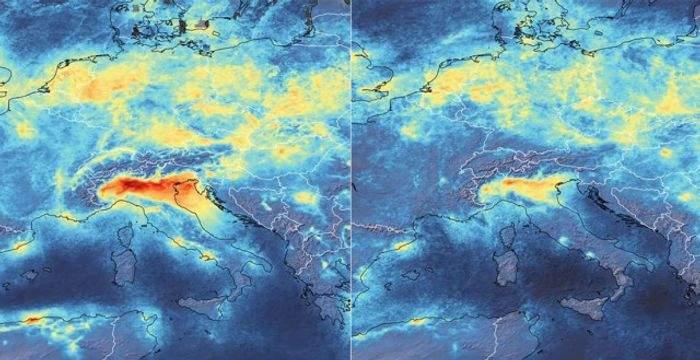 Según la NASA, el coronavirus está ayudando a reducir la contaminación 3