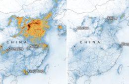 Según la NASA, el coronavirus está ayudando a reducir la contaminación en China 8
