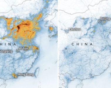 Según la NASA, el coronavirus está ayudando a reducir la contaminación en China 12