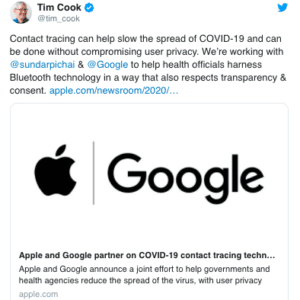 Apple y Google lanzan un sistema que permitirá saber si has estado cerca de un infectado de COVID-19 8