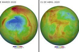 El gigante agujero en el ozono del Ártico se cierra misteriosamente 4