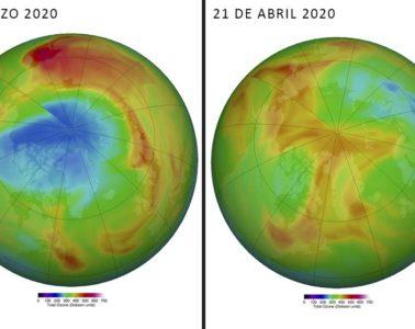 El gigante agujero en el ozono del Ártico se cierra misteriosamente 6