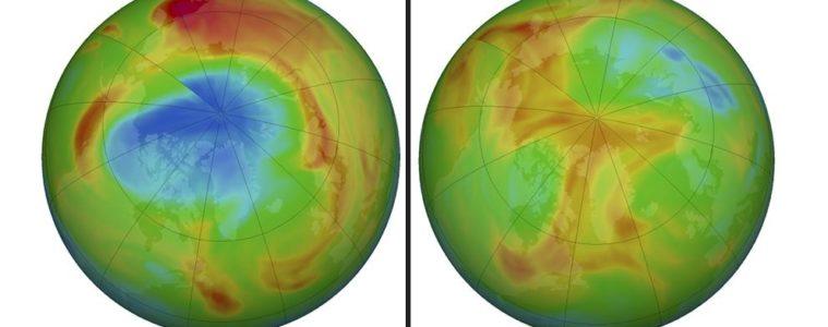 El gigante agujero en el ozono del Ártico se cierra misteriosamente 8