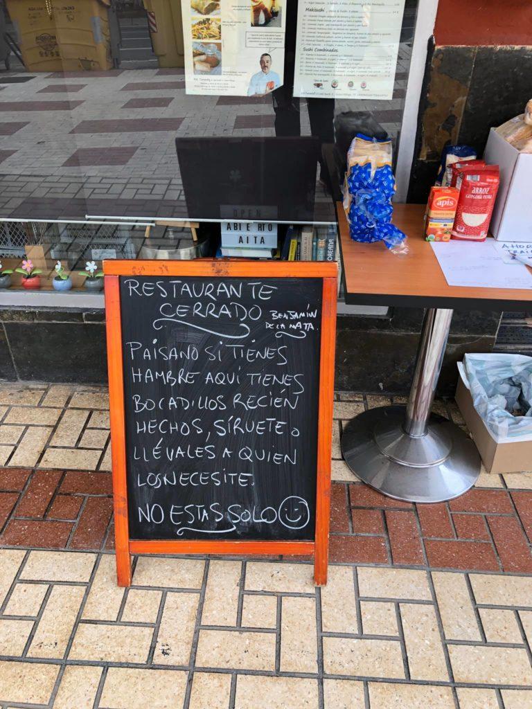 Las iniciativas solidarias de varios restaurantes que donan aquellos alimentos que les sobran cada día 2