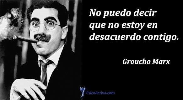 Los 14 grandes principios de un genio: Groucho Marx 2