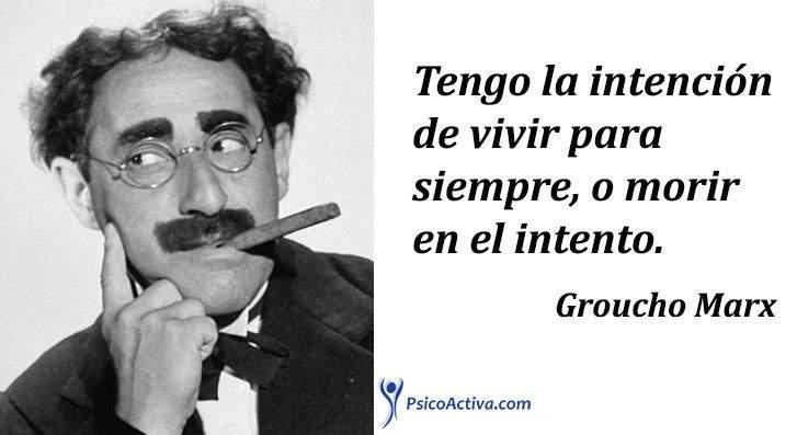Los 14 grandes principios de un genio: Groucho Marx 3