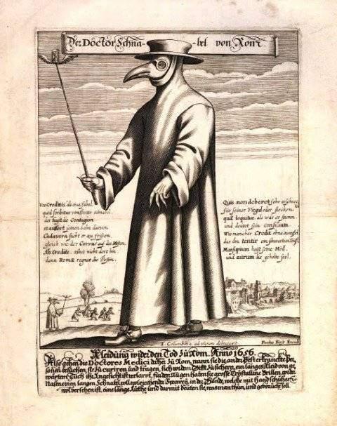 Además del estilazo, te sorprenderán las diferencias entre las máscaras de la peste y las que usamos ahora 3