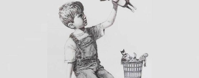 Game Changer: la inspiradora nueva obra de Banksy que merece ser compartida 2