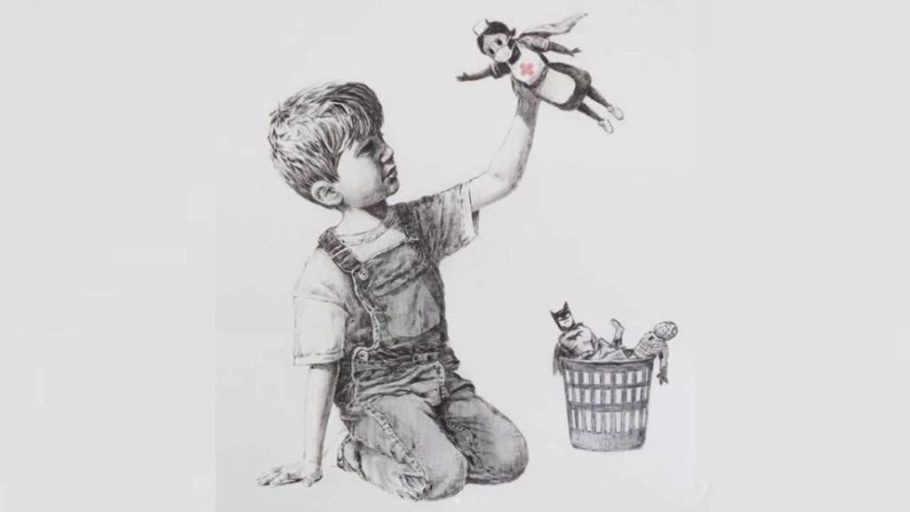 Game Changer: la inspiradora nueva obra de Banksy que merece ser compartida 1