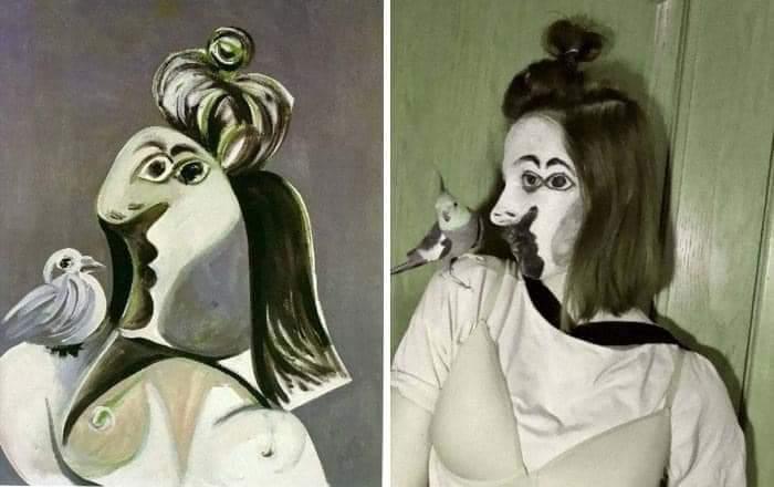 Los museos piden a la gente que recreen sus obras de arte y el resultado es... ¡divertidísimo! 3