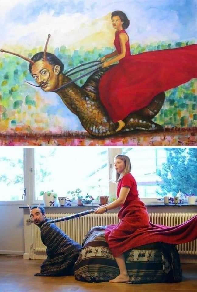 Los museos piden a la gente que recreen sus obras de arte y el resultado es... ¡divertidísimo! 11
