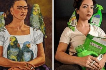 Los museos piden a la gente que recreen sus obras de arte y el resultado es... ¡divertidísimo! 16
