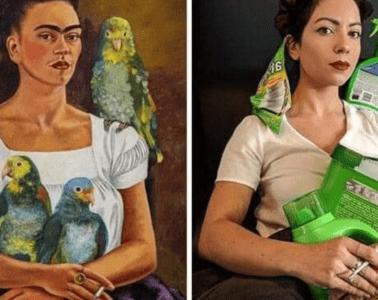 Los museos piden a la gente que recreen sus obras de arte y el resultado es... ¡divertidísimo! 20