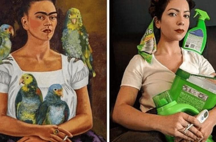 Los museos piden a la gente que recreen sus obras de arte y el resultado es... ¡divertidísimo! 2