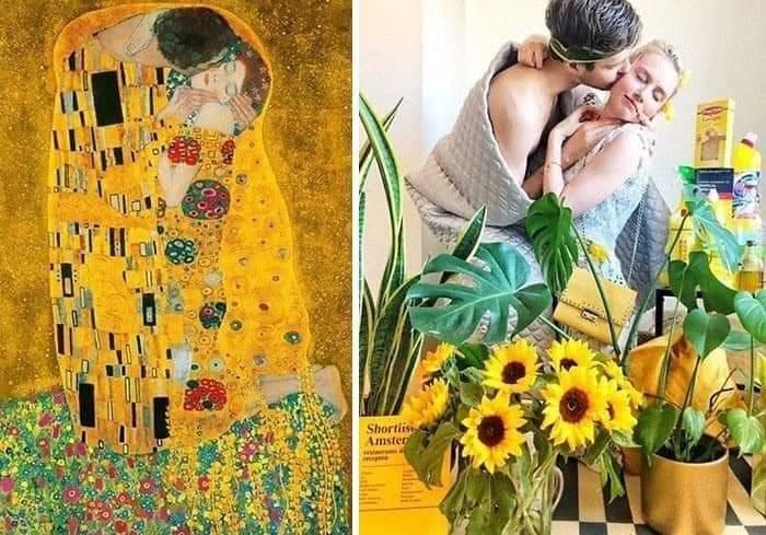 Los museos piden a la gente que recreen sus obras de arte y el resultado es... ¡divertidísimo! 27