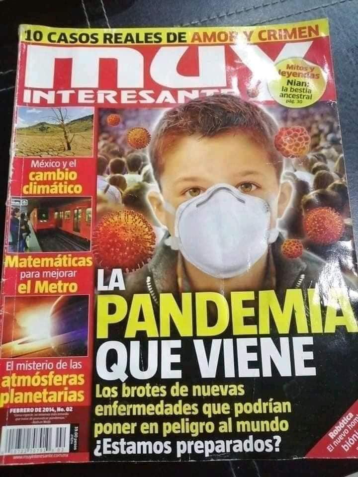 """El libro que predijo que habría una pandemia como el """"coronavirus"""" en 2020 ¿Peligrosa coincidencia? 5"""