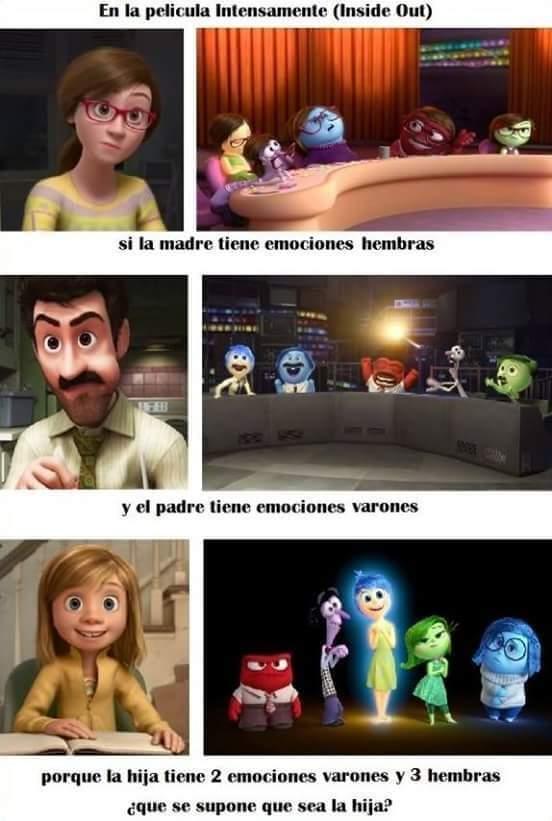 9 lecciones sobre las emociones que Pixar nos enseña en 'Inside Out' 3