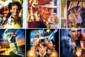 TOP 10 de obras de arte de Drew Struzan creadas para carteles cinematográficos. Elegimos la mejor 22