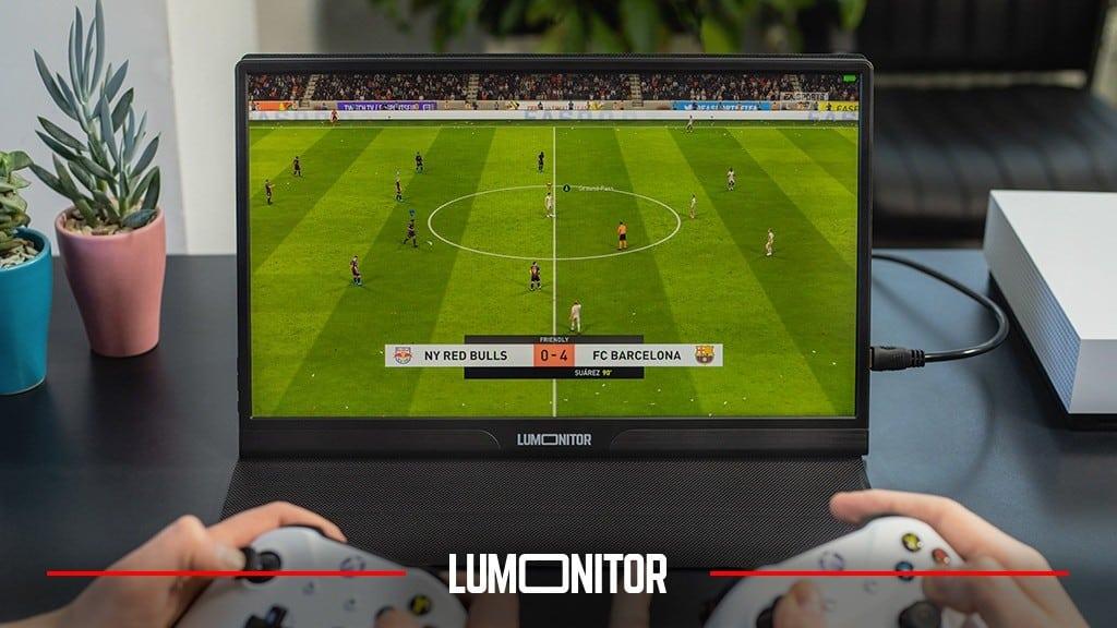 Lumonitor, el monitor 4K, portátil, sin cables, que te ayuda en el ocio y el trabajo 1