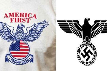 El nuevo logo de Trump se parece demasiado a este emblema fascista. ¿Qué peligro real implica? 14