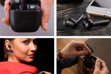 Los innovadores auriculares inalámbricos con una nueva tecnología inteligentes que elimina el ruido exterior 16