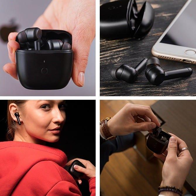 Los innovadores auriculares inalámbricos con una nueva tecnología inteligentes que elimina el ruido exterior 1