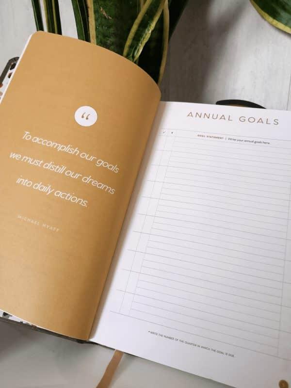 Full Focus Planner: para nosotros, el mejor planificador trimestral. Te explicamos por qué 5