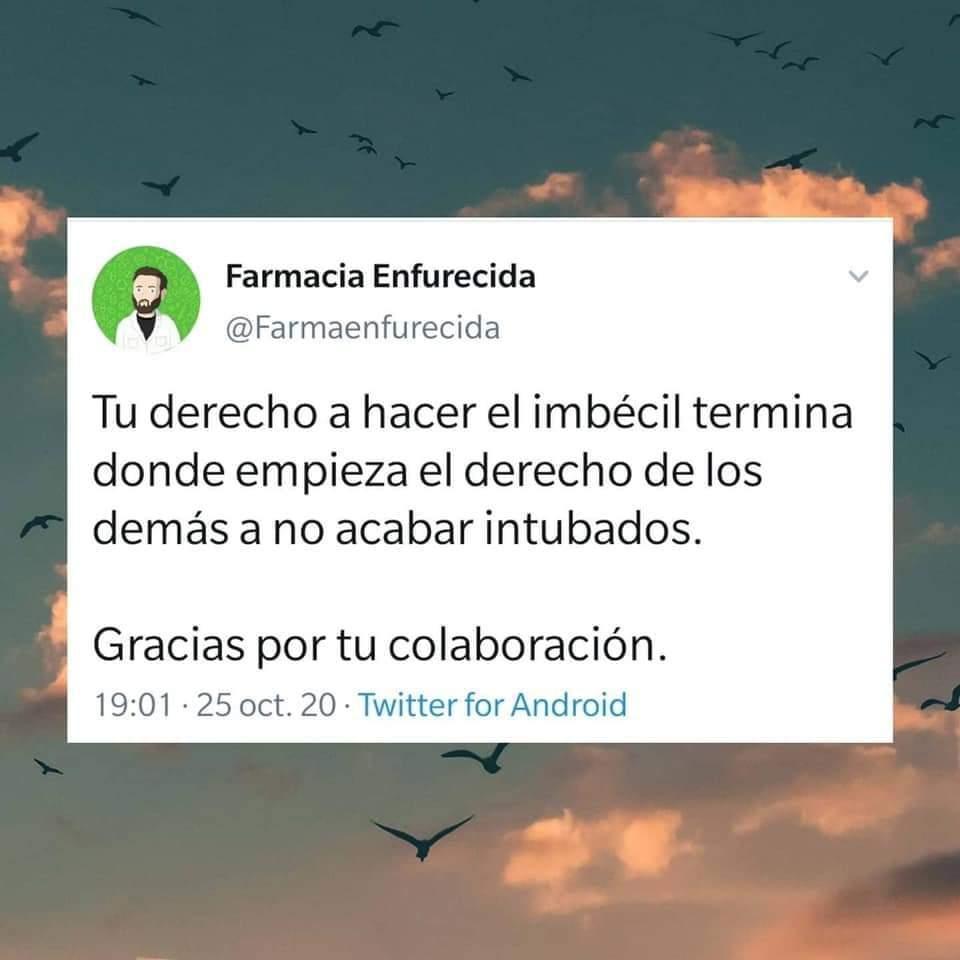 """""""Carta abierta a los imbéciles"""". Un médico de Málaga estalla en redes sociales 7"""