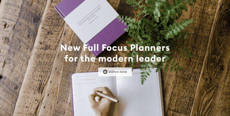 Full Focus Planner: para nosotros, el mejor planificador trimestral. Te explicamos por qué 1