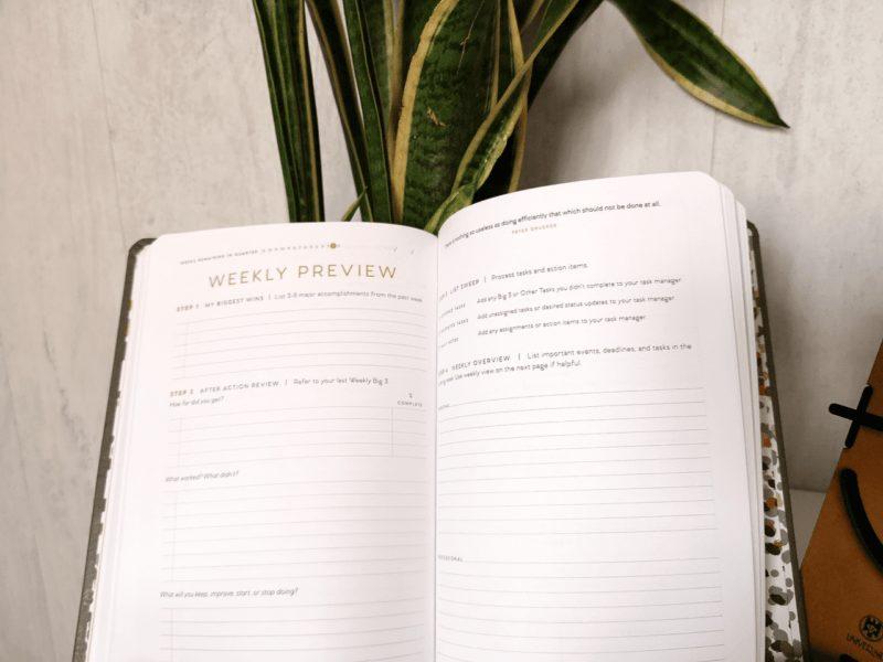 Full Focus Planner: para nosotros, el mejor planificador trimestral. Te explicamos por qué 6