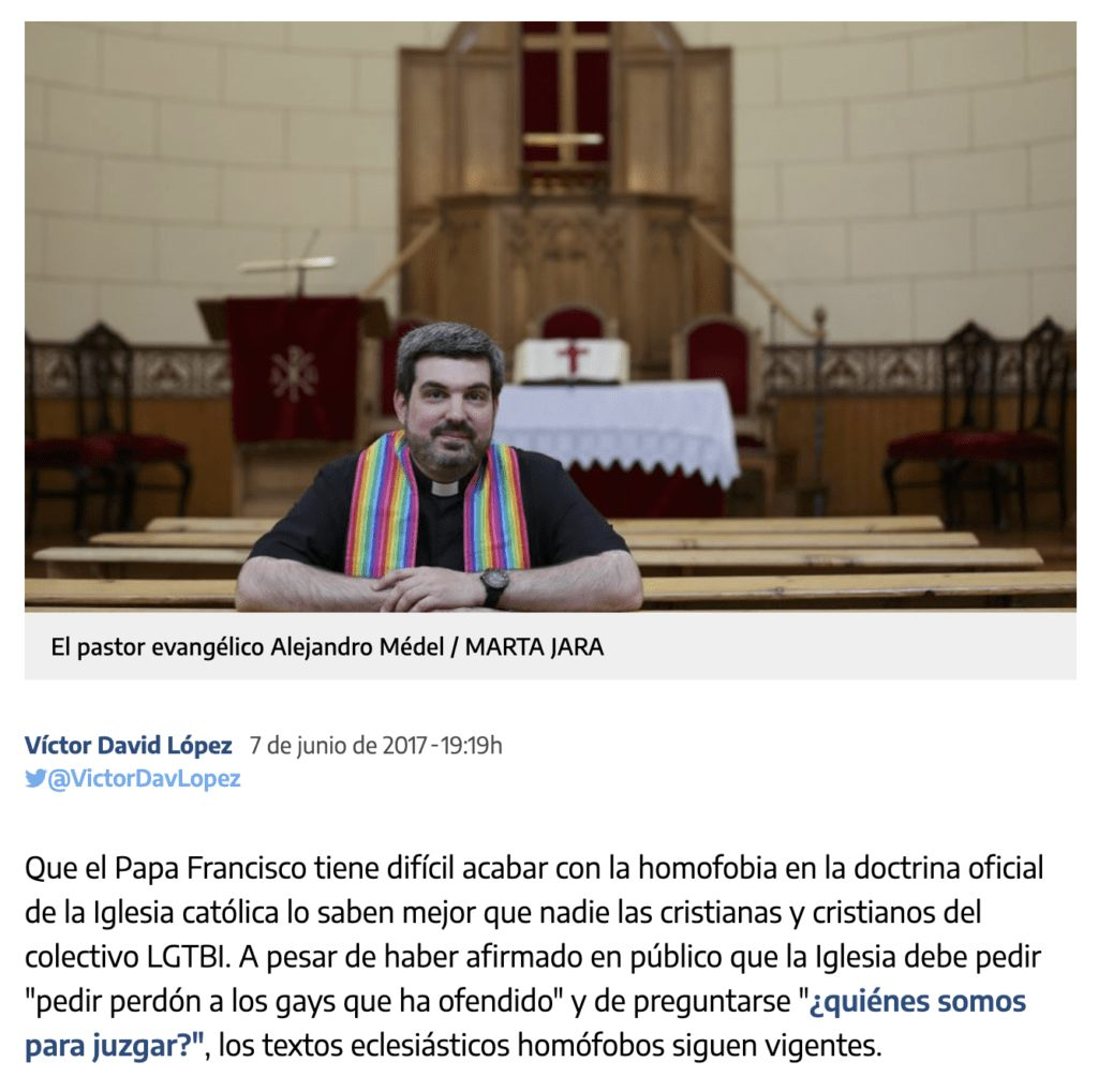 ¿El Papa Francisco apoya las uniones civiles entre parejas del mismo sexo? Esta es la verdad (actualizada) 3