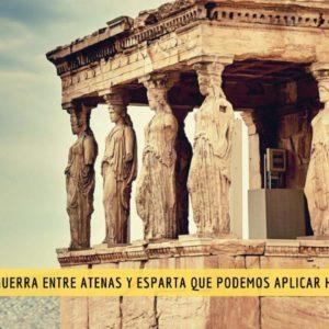 La rivalidad entre Esparta y Atenas provocó Guerra del Peloponeso. ¿Qué lección podemos aprender de su terrible error? 3