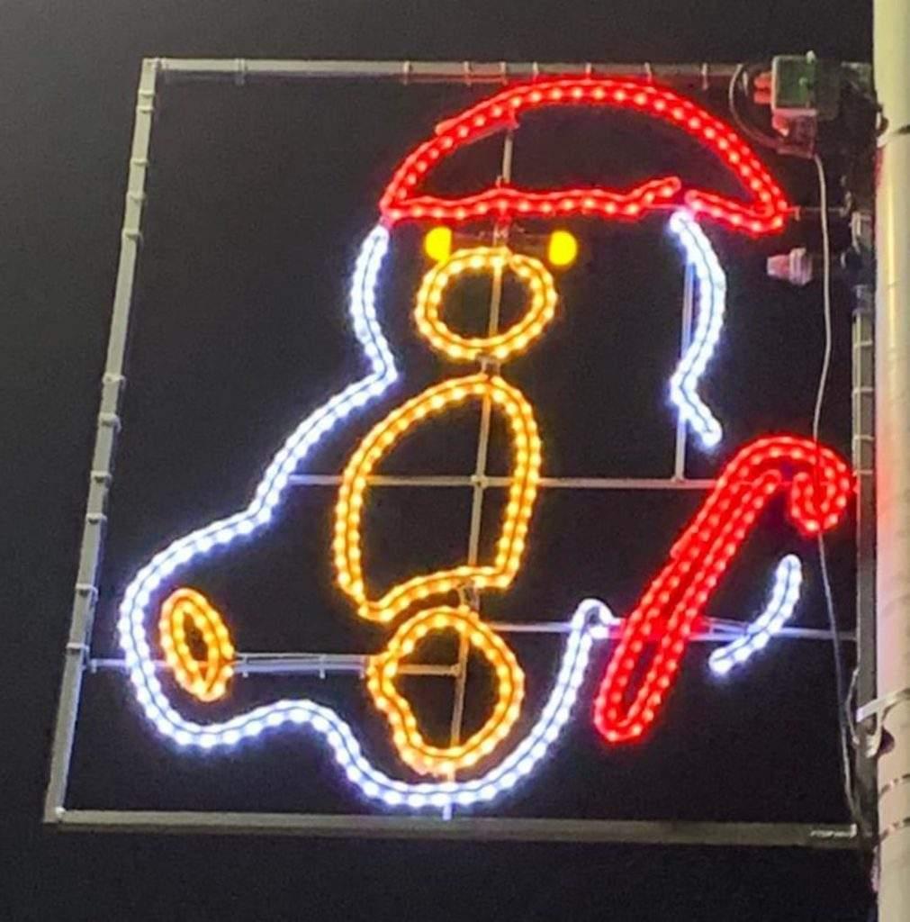 Luces de Navidad diseñadas por niños y niñas de esa misma ciudad ¡Qué gran iniciativa! 4