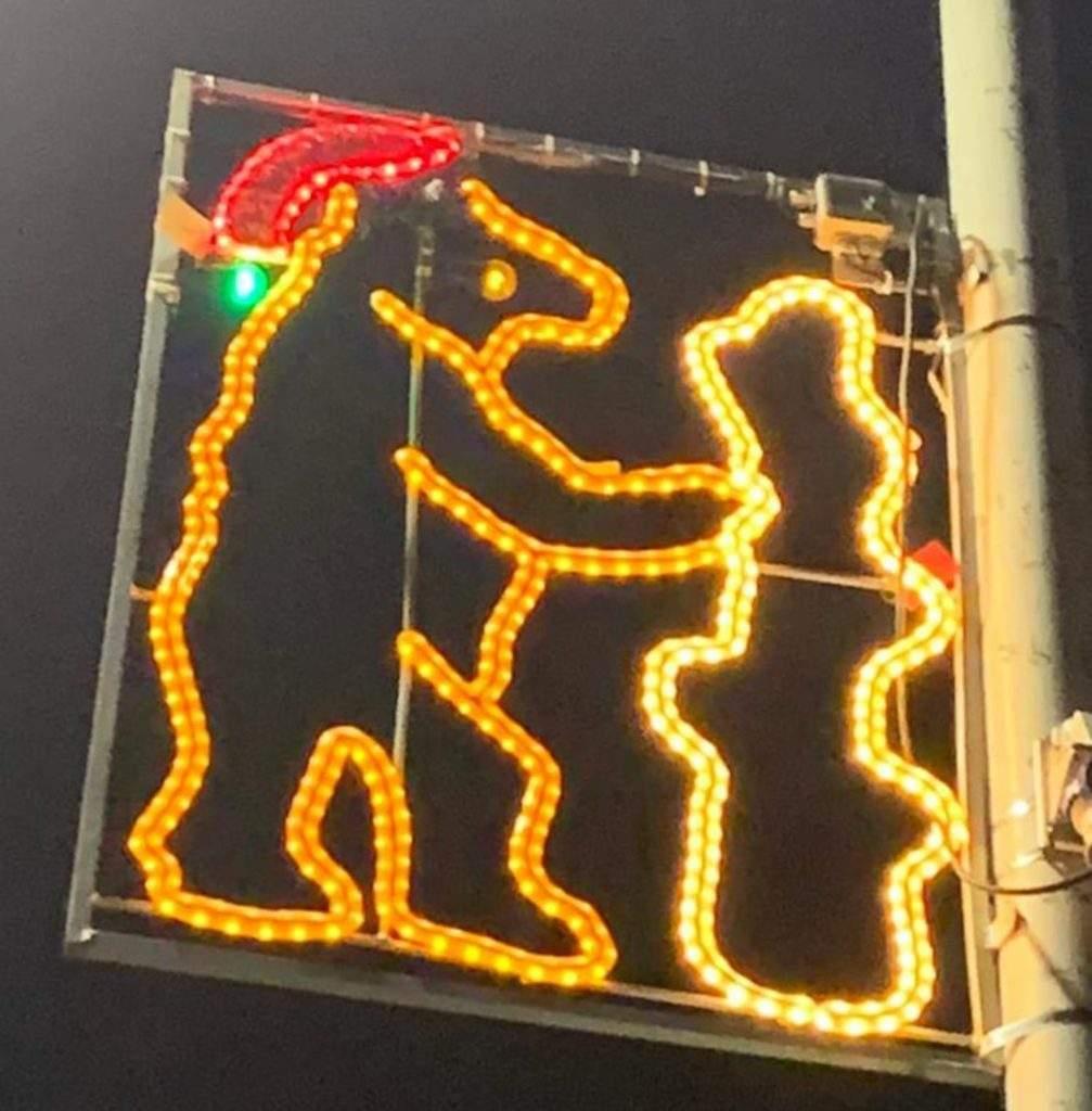Luces de Navidad diseñadas por niños y niñas de esa misma ciudad ¡Qué gran iniciativa! 6