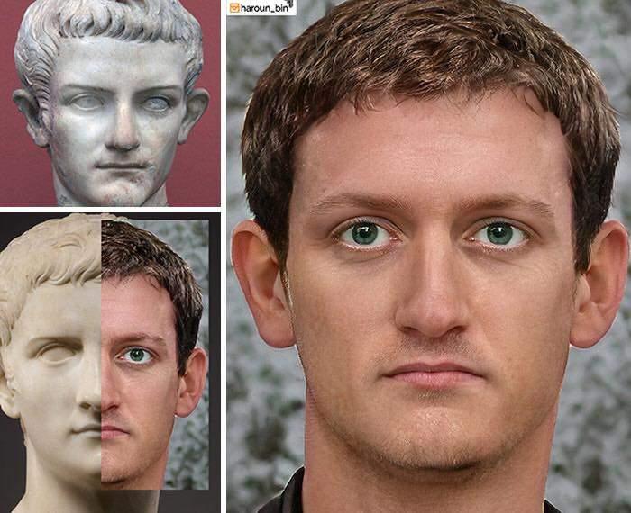 Un artista recrea cómo serían los rostros emperadores romanos usando IA y reconstrucción facial digital 3