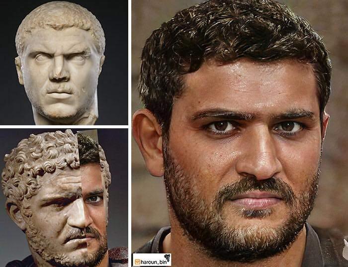 Un artista recrea cómo serían los rostros emperadores romanos usando IA y reconstrucción facial digital 14