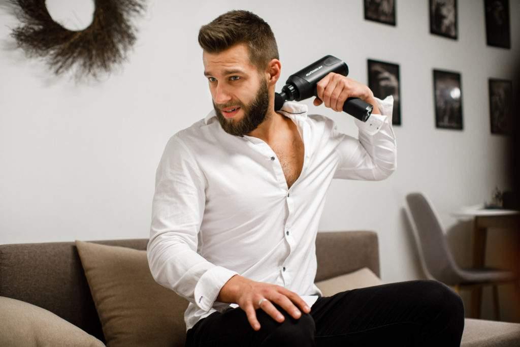 Exogun: lo último en tecnología de masaje por percusión ahora es inalámbrico y portátil 1